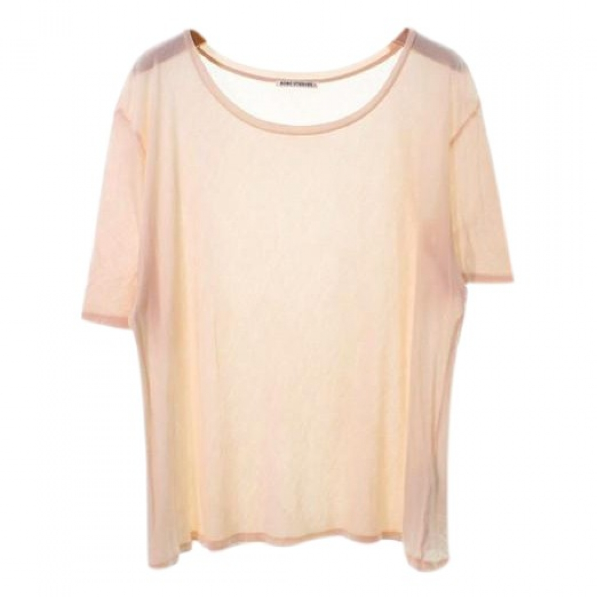 Acne Studios \N Top in  Rosa Baumwolle