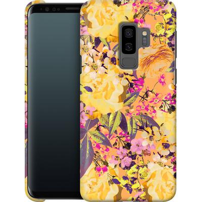 Samsung Galaxy S9 Plus Smartphone Huelle - Symmetric Spring von Zala Farah