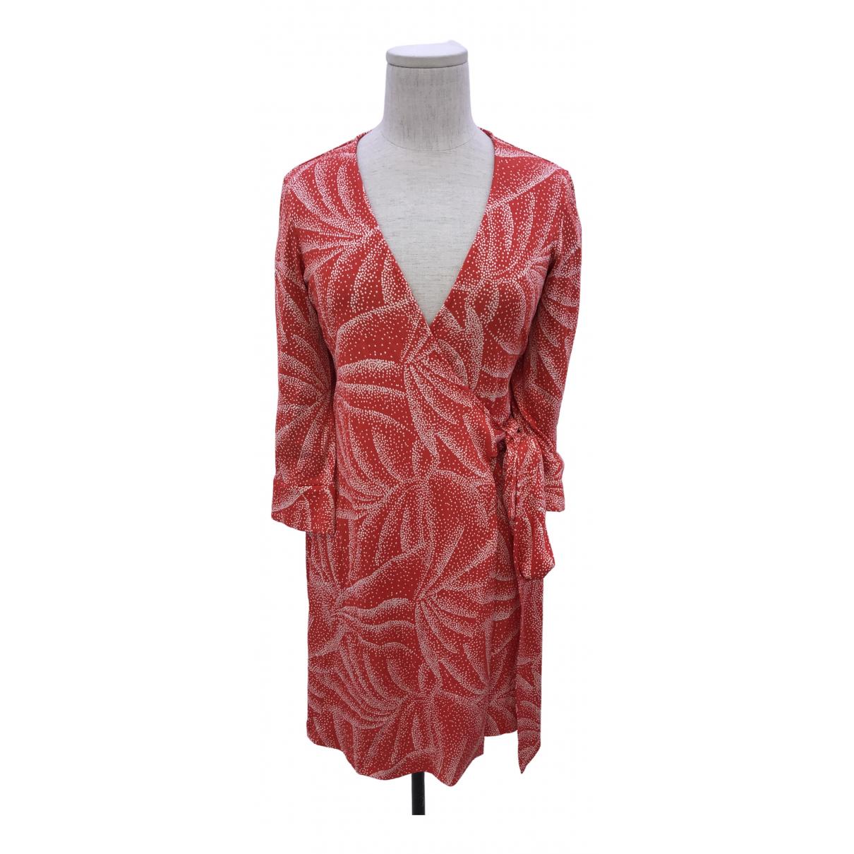 Mini vestido de Seda Diane Von Furstenberg