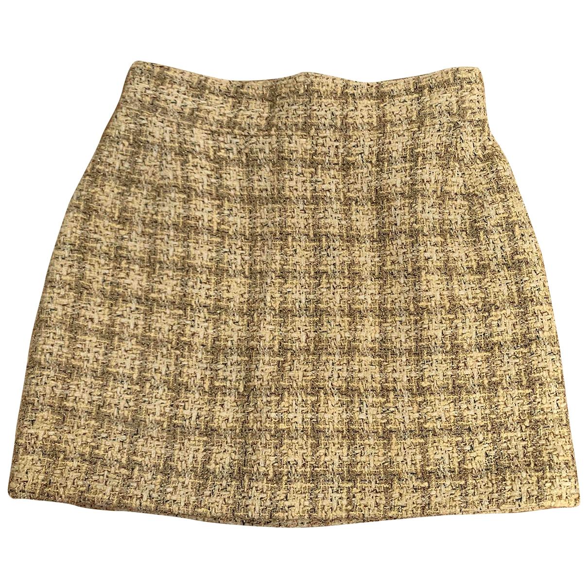 - Jupe   pour femme en coton - metallise