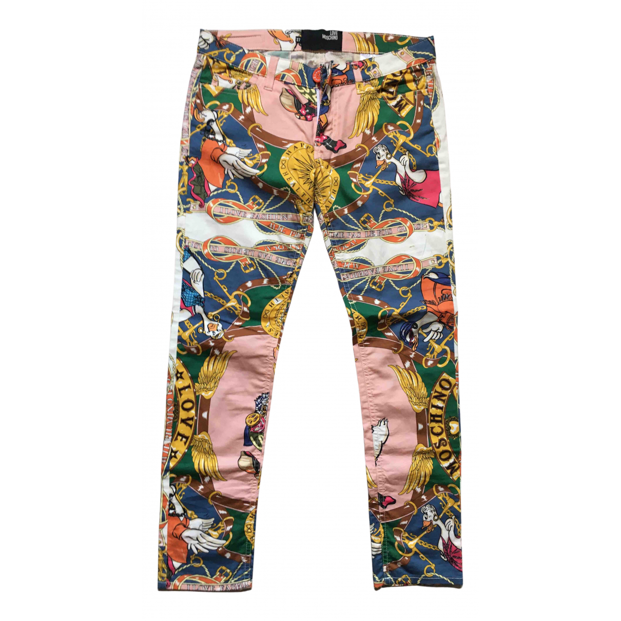 Pantalon pitillo Moschino Love