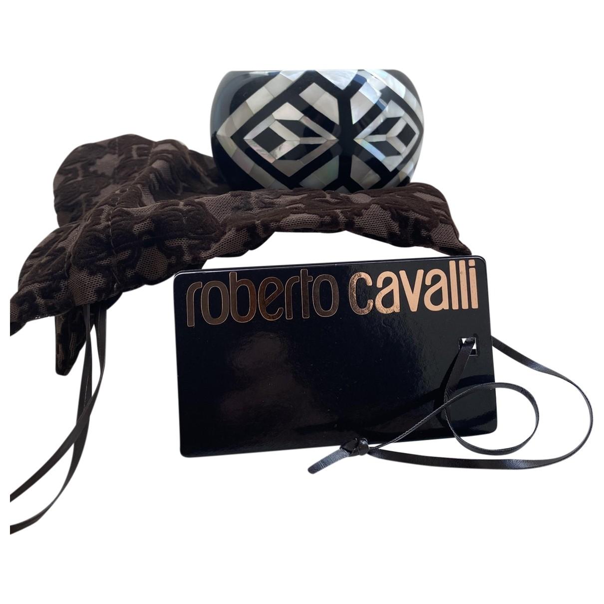 Roberto Cavalli - Bracelet   pour femme en ceramique - noir