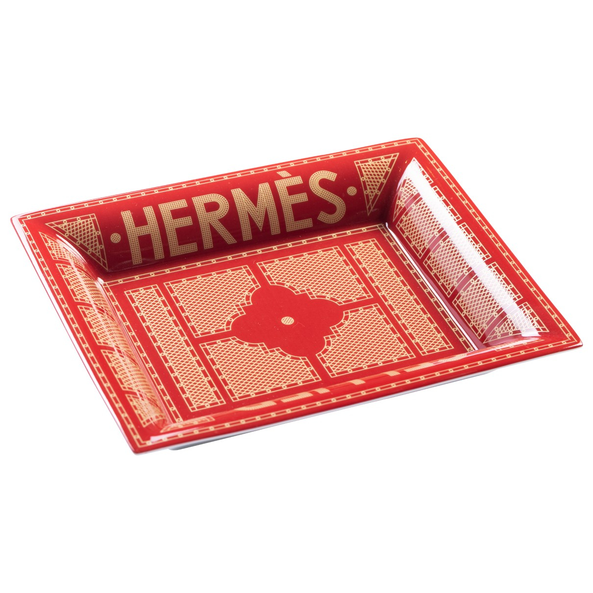Cenicero de Porcelana Hermes