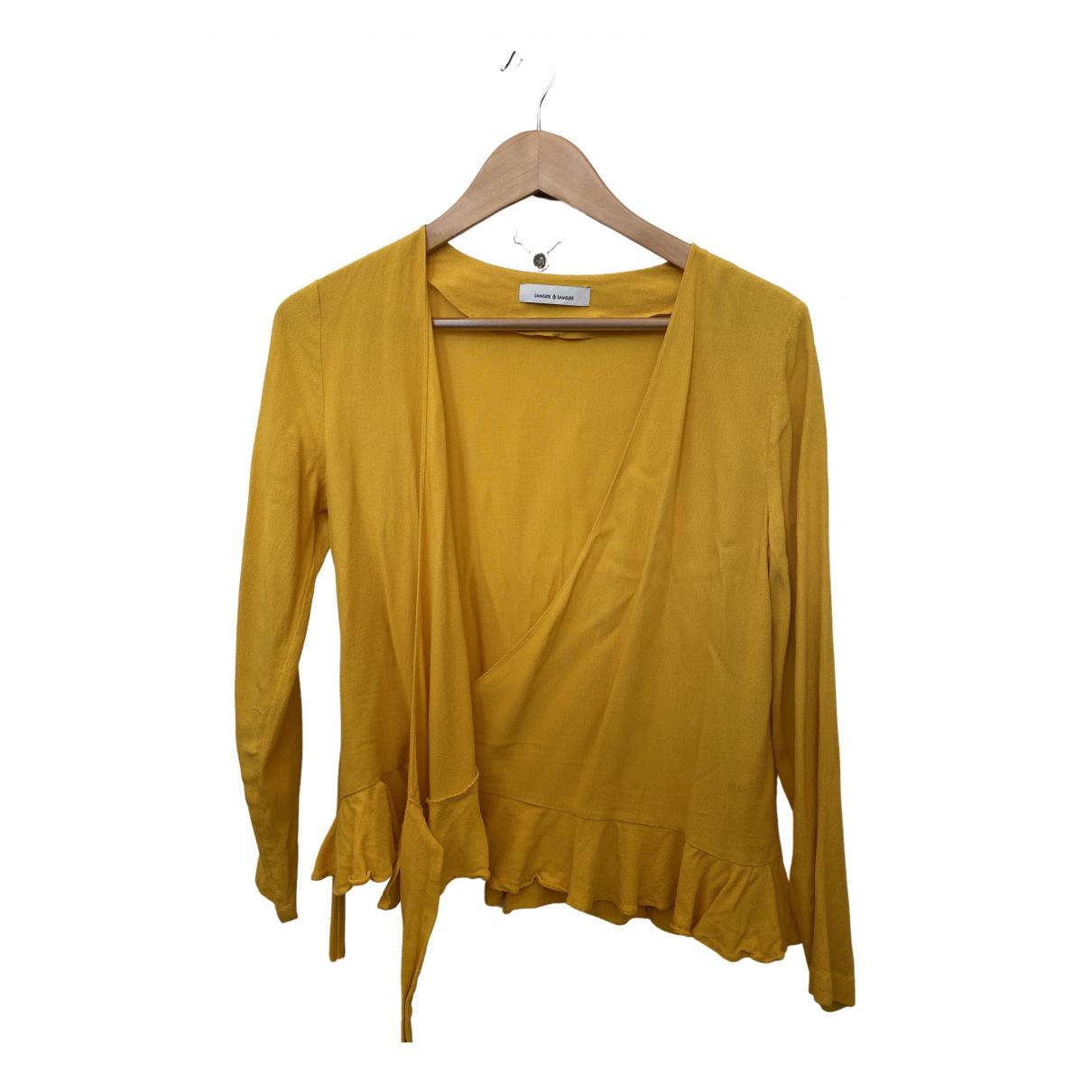 Samsoe & Samsoe - Top   pour femme - jaune