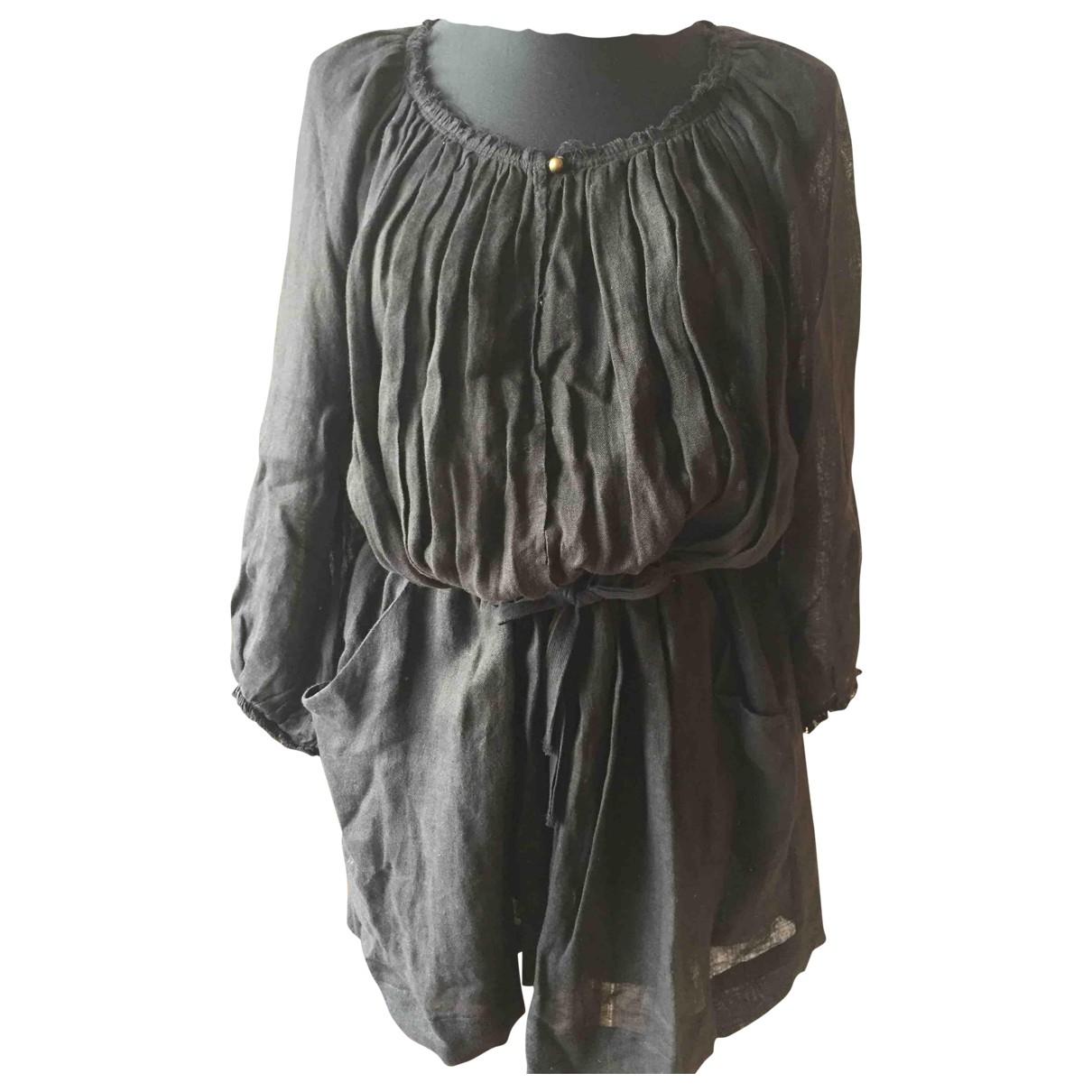 Vestido de Lino Isabel Marant Etoile