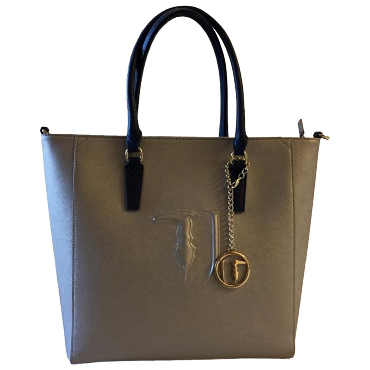 Trussardi Jeans \N Silver handbag for Women \N
