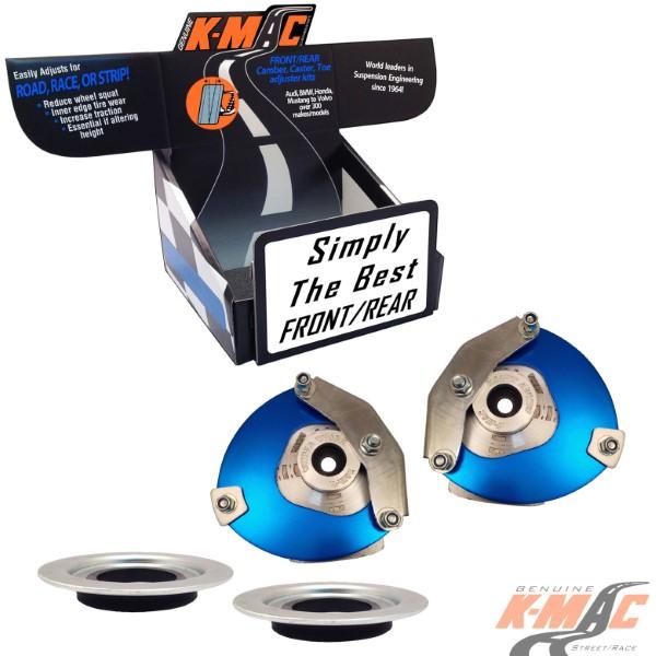 K-Mac Stage 2 Street   Race Front Camber & Caster Strut Mount Kit BMW 2 Series F45/F46   X1 Series F48  14-19