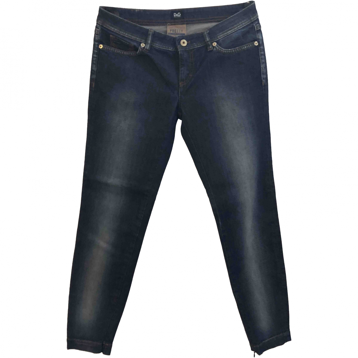 D&g \N Blue Denim - Jeans Jeans for Women 29 US