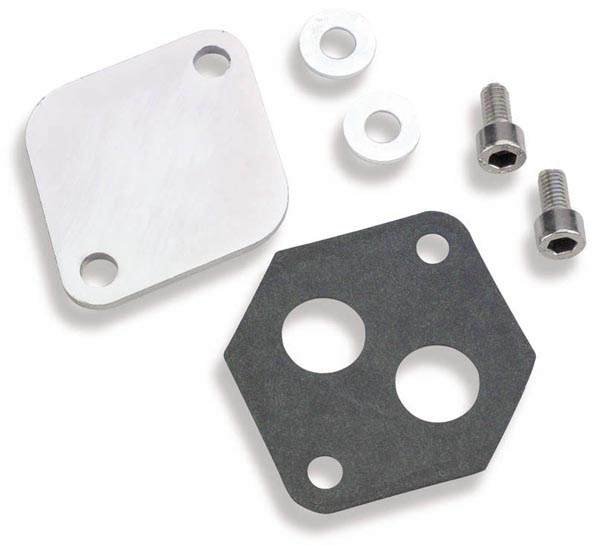 Holley EFI 112-560 IAC BLOCK OFF PLATE FORD T/B