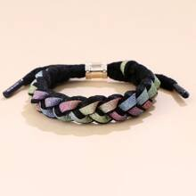Colorful Glitter String Bracelet