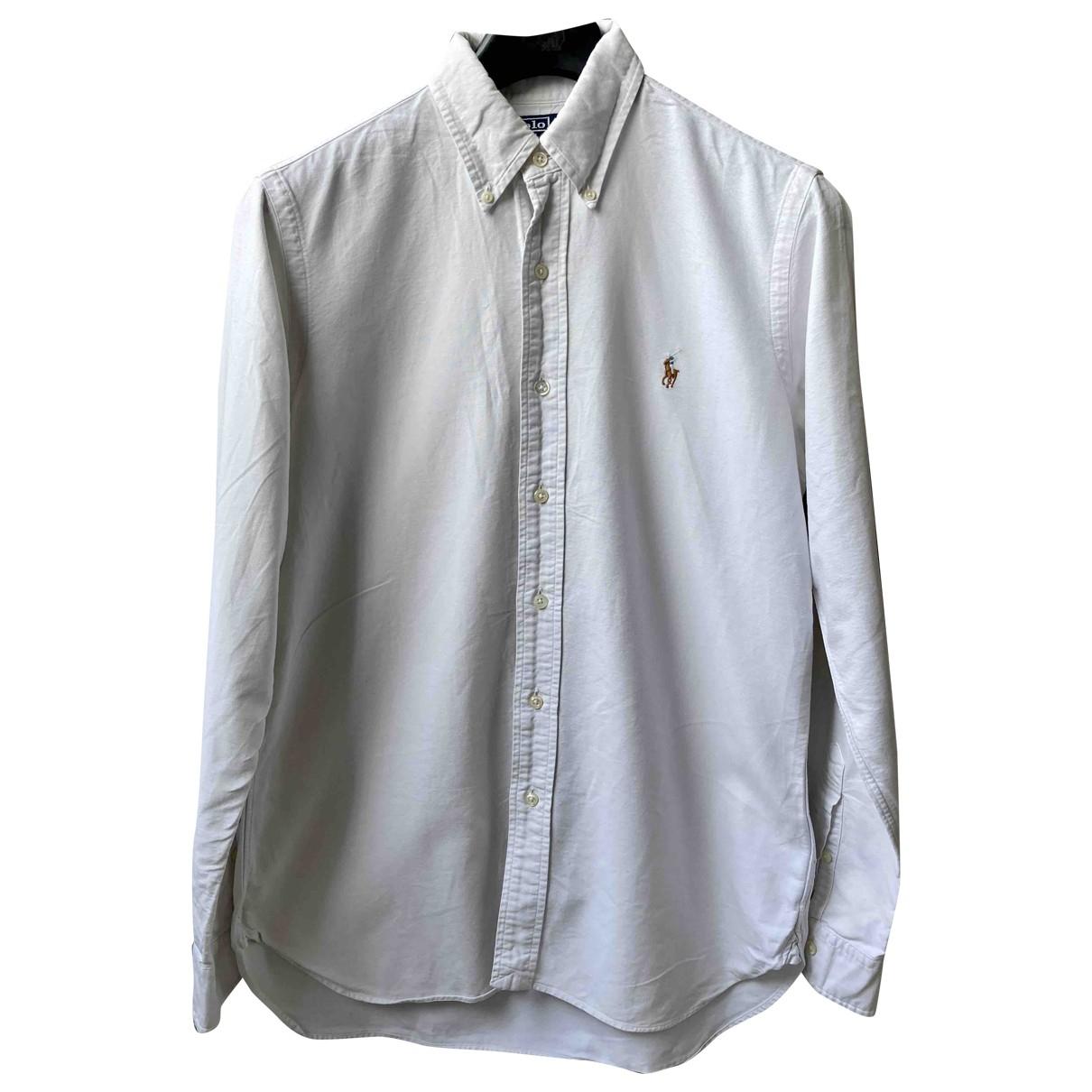 Polo Ralph Lauren \N Hemden in  Weiss Baumwolle