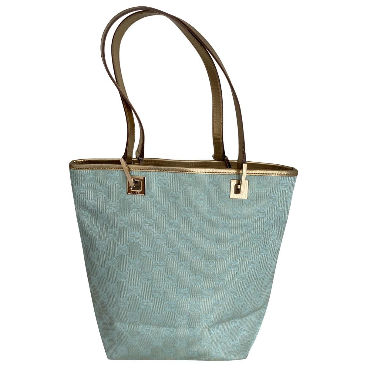 Gucci \N Blue Cloth handbag for Women \N