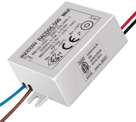 Recom RACD04 AC-DC Constant Current LED Driver 4W 3 → 8V dc