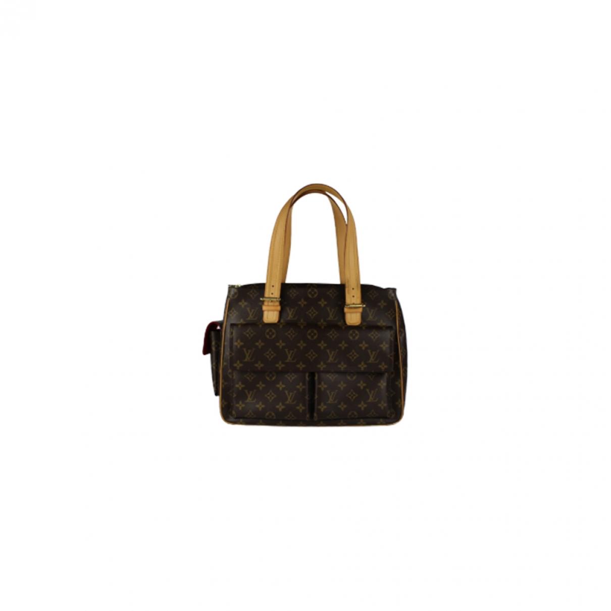 Louis Vuitton Multipli Cité  Brown Cloth handbag for Women \N