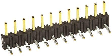 Hirose , A4B, 12 Way, 1 Row, Right Angle Pin Header (5)