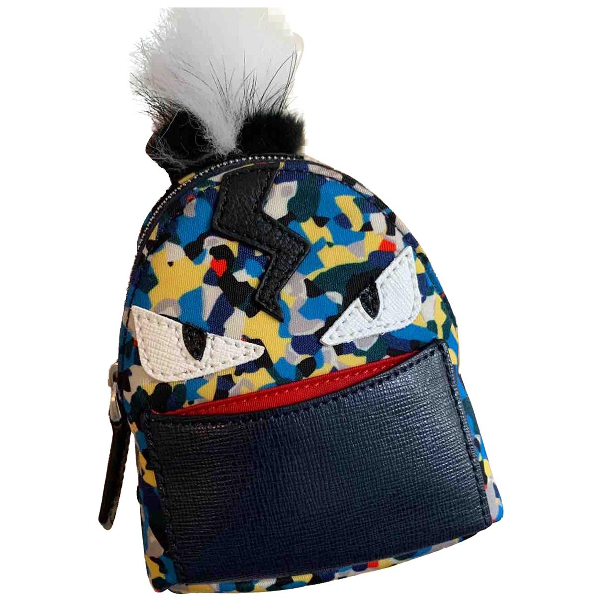 Fendi - Petite maroquinerie   pour femme en racoon - bleu