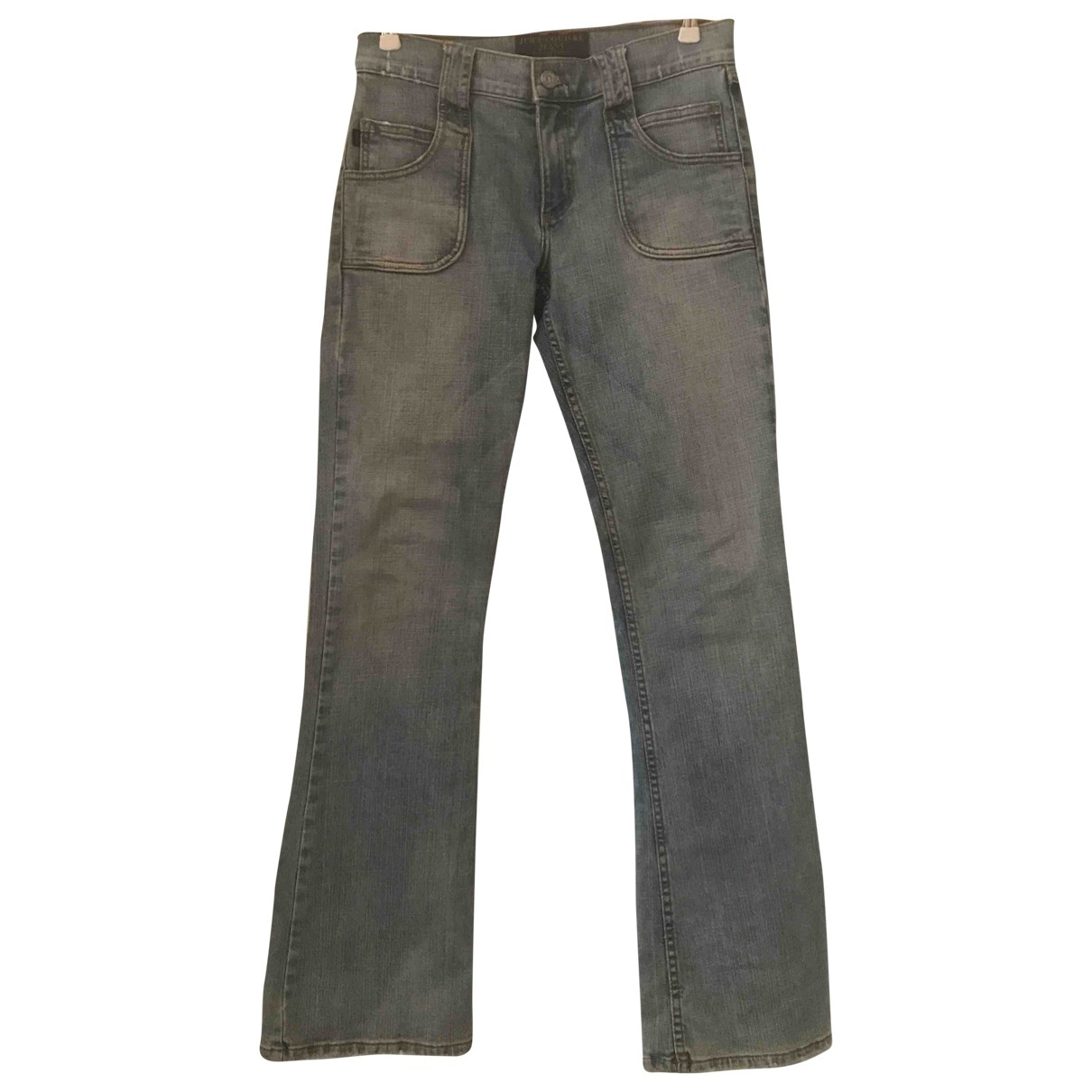 Juicy Couture \N Blue Denim - Jeans Trousers for Women 42 IT