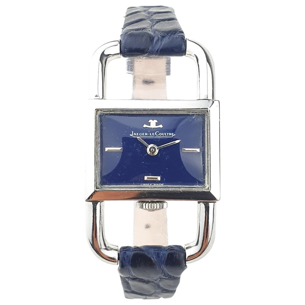Jaeger-lecoultre Etrier Uhr in  Blau Stahl
