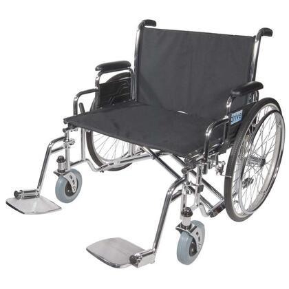 STD30ECDDA Sentra EC Heavy Duty Extra Wide Wheelchair  Detachable Desk Arms  30