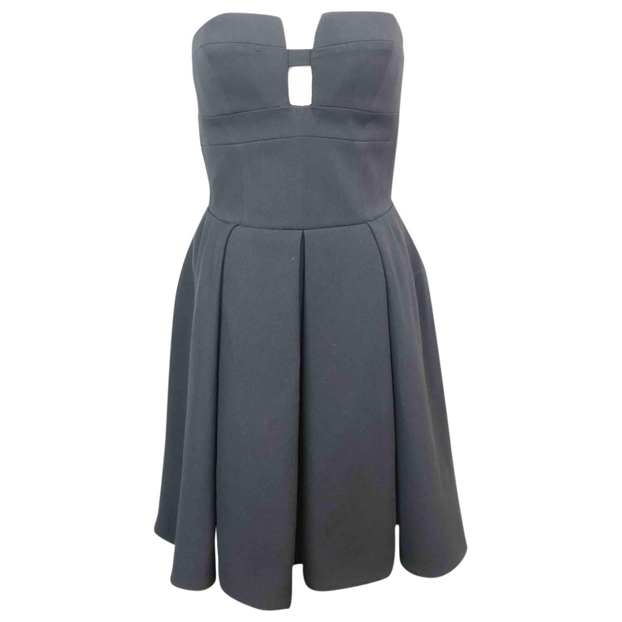 Roberto Cavalli \N Kleid in  Schwarz Polyester