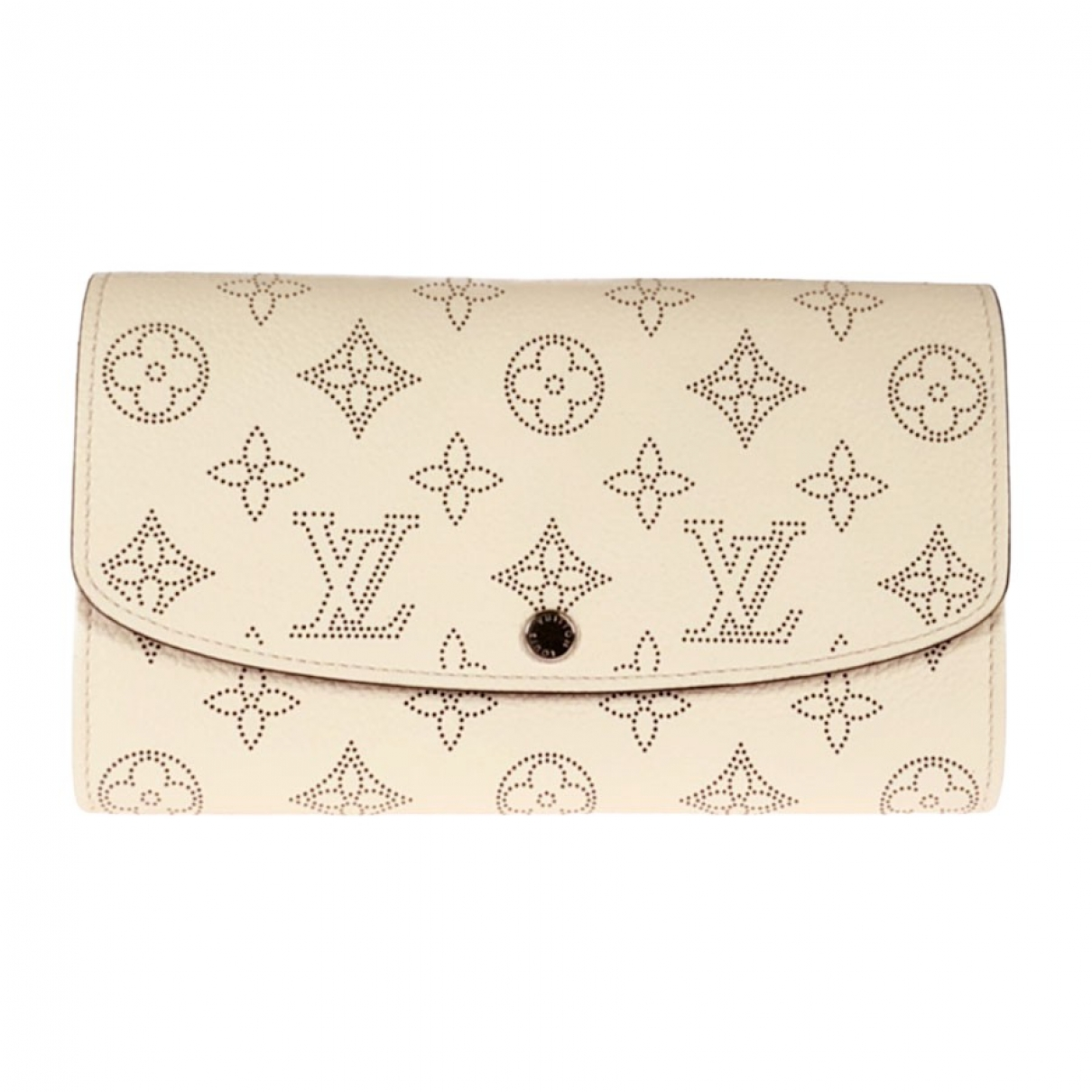 Louis Vuitton - Portefeuille Iris pour femme en cuir - blanc