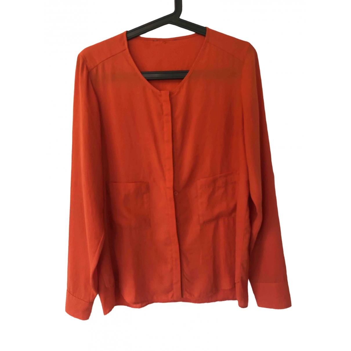 - Top   pour femme - orange