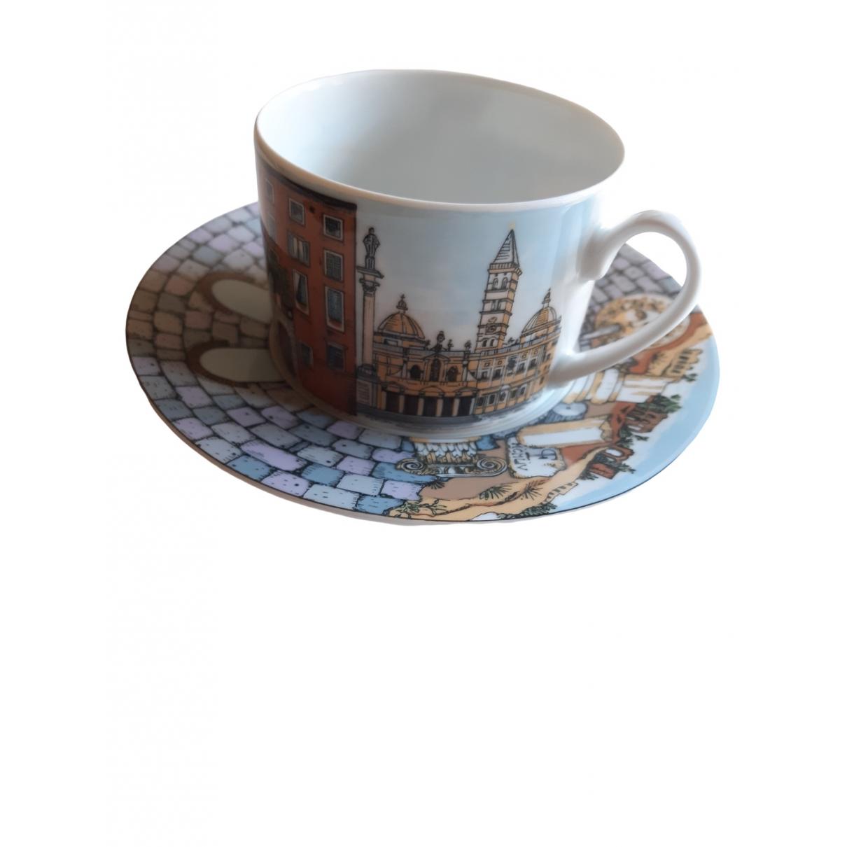 Fornasetti - Arts de la table   pour lifestyle en porcelaine - multicolore