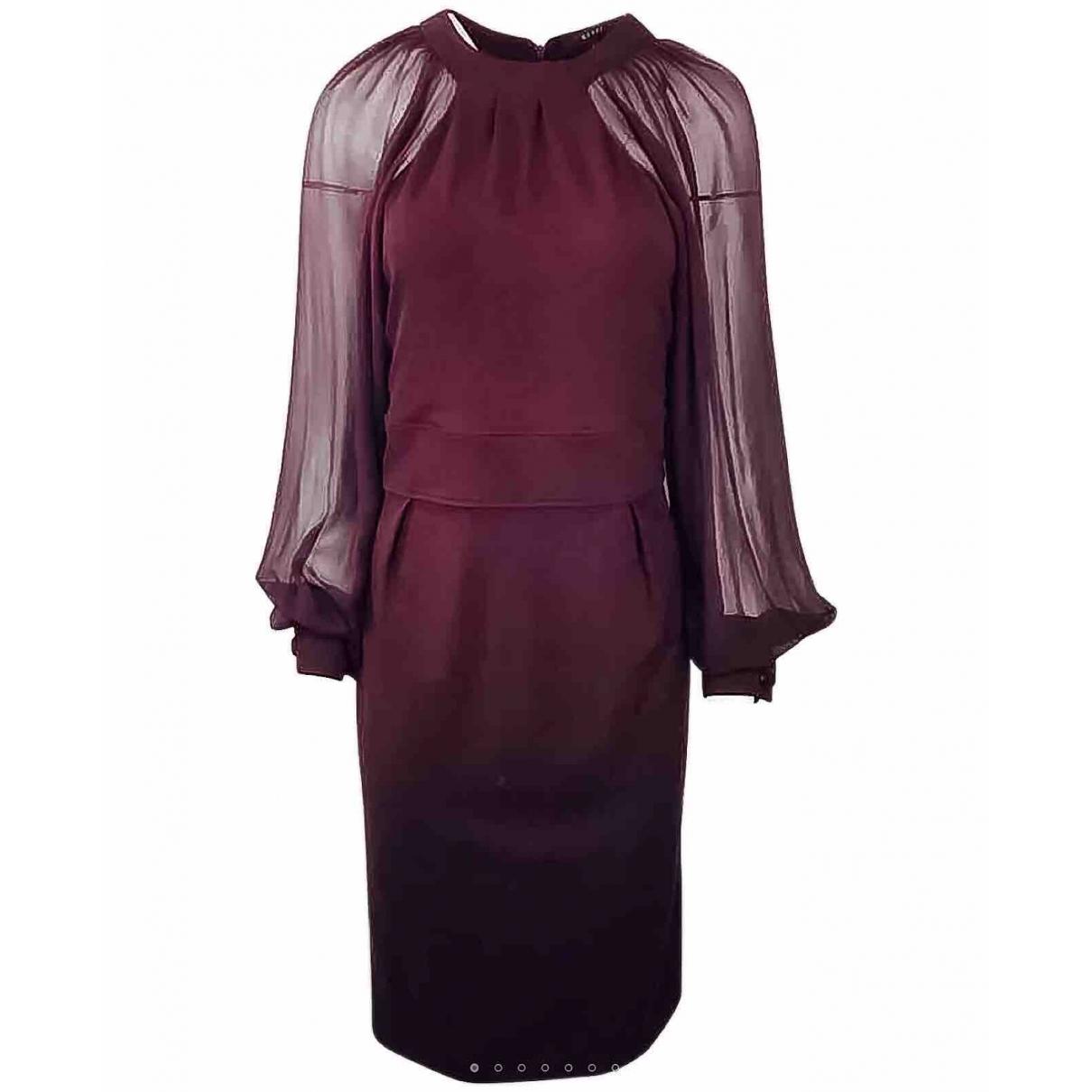 Gucci \N Burgundy Silk dress for Women L International