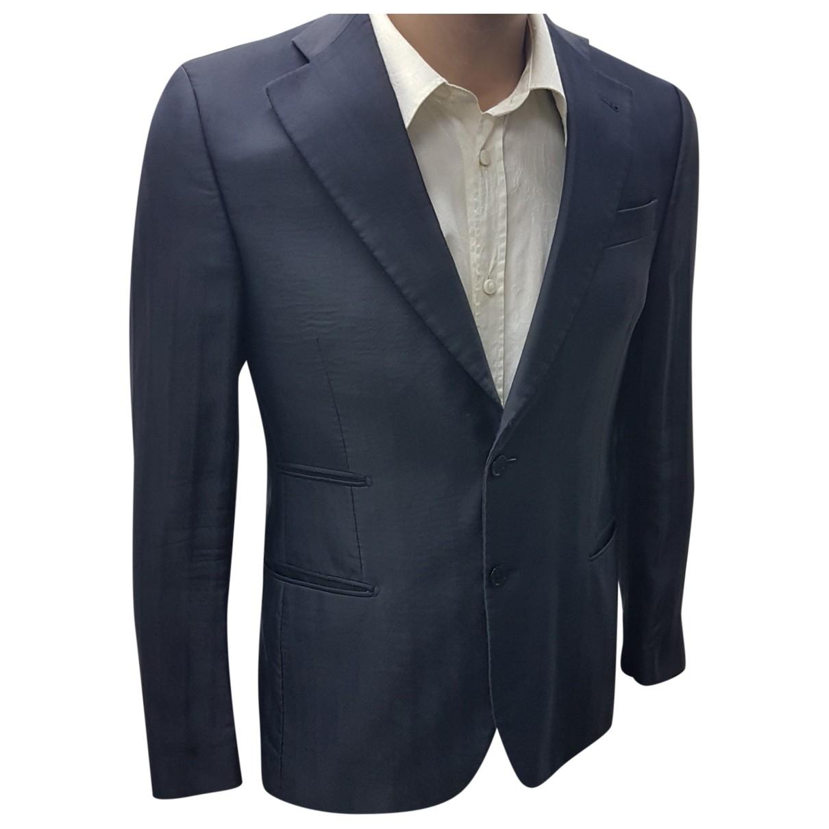 Daniele Alessandrini - Costumes   pour homme en coton - bleu