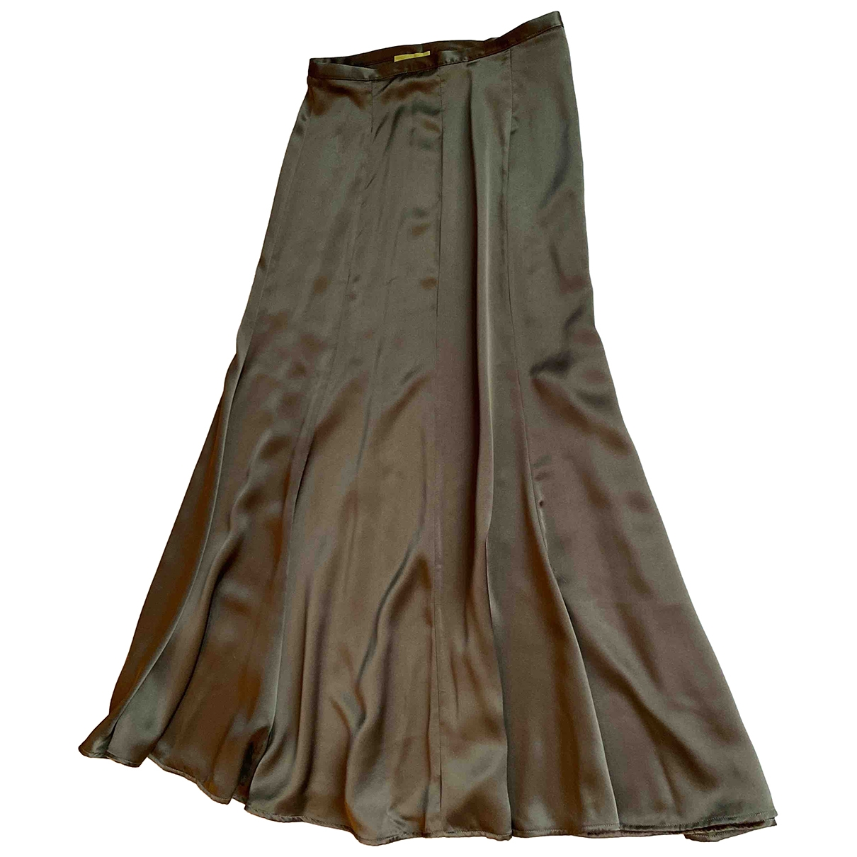 Albus Lumen N Green Silk skirt for Women 8 UK