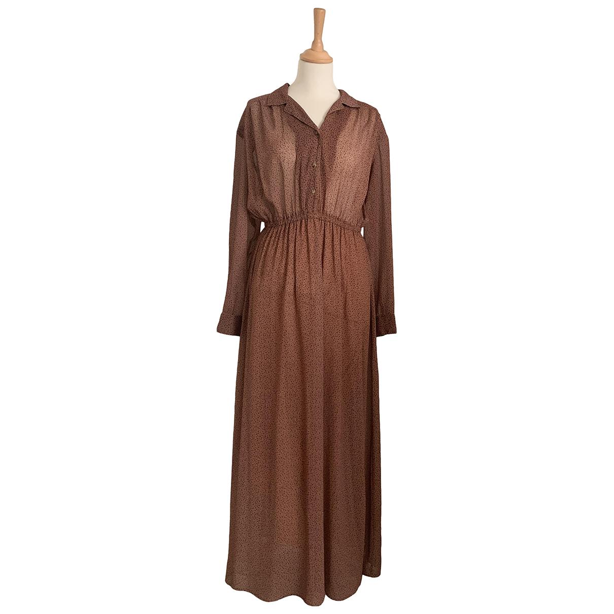 American Vintage \N Kleid in  Kamel Polyester