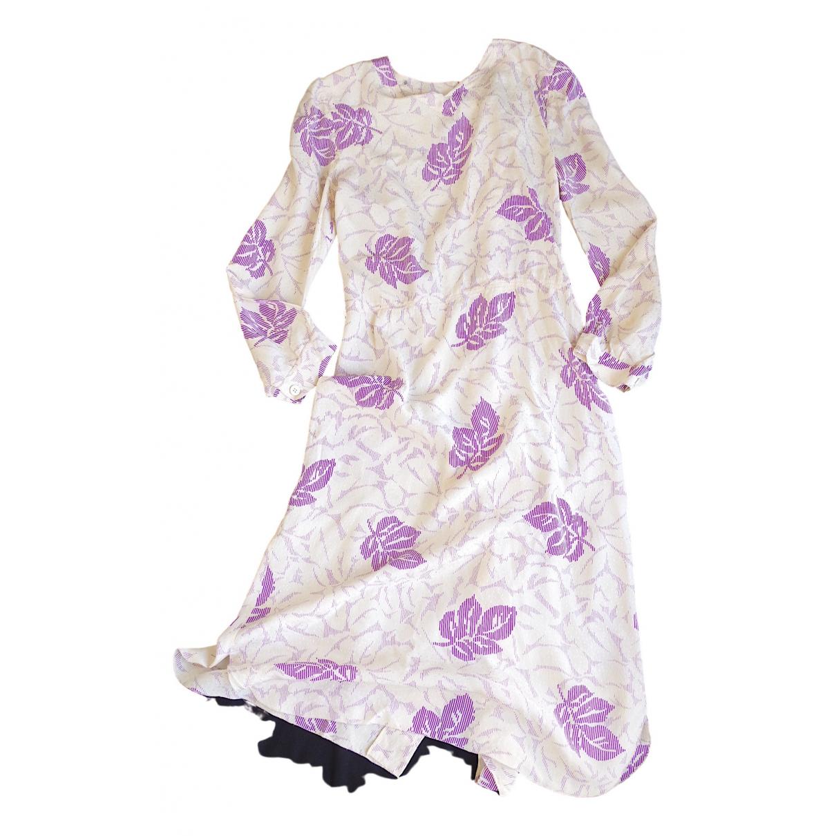 Sonia Rykiel \N Kleid in  Ecru Seide