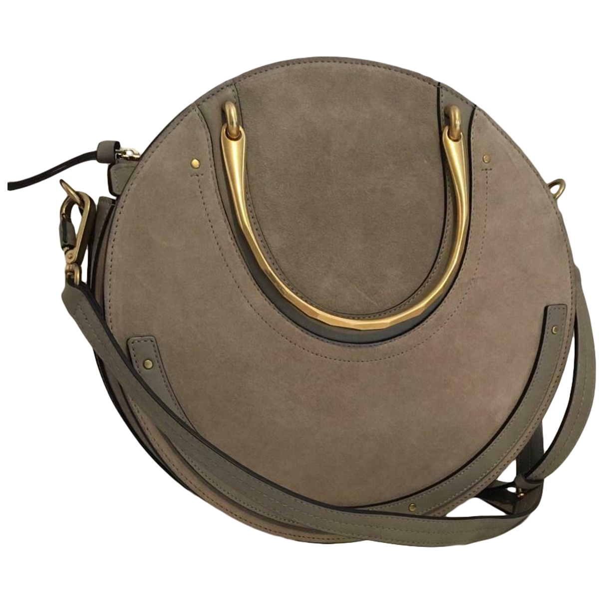 Chloé Pixie Grey Leather handbag for Women \N