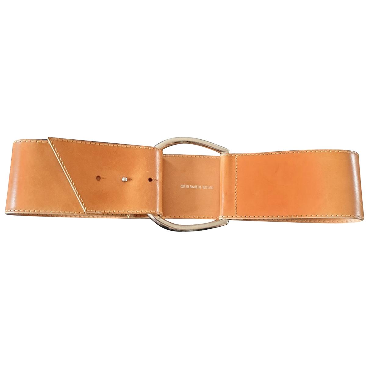 Cinturon de Cuero Paco Rabanne