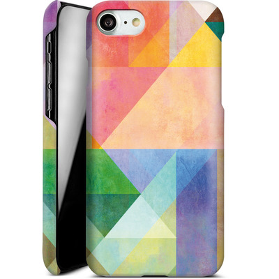 Apple iPhone 7 Smartphone Huelle - Color Blocking 1 von Mareike Bohmer