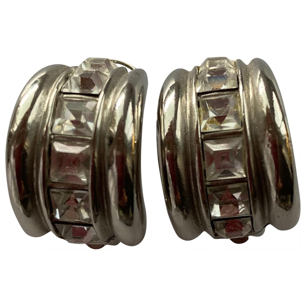Yves Saint Laurent \N Silver Metal Earrings for Women \N