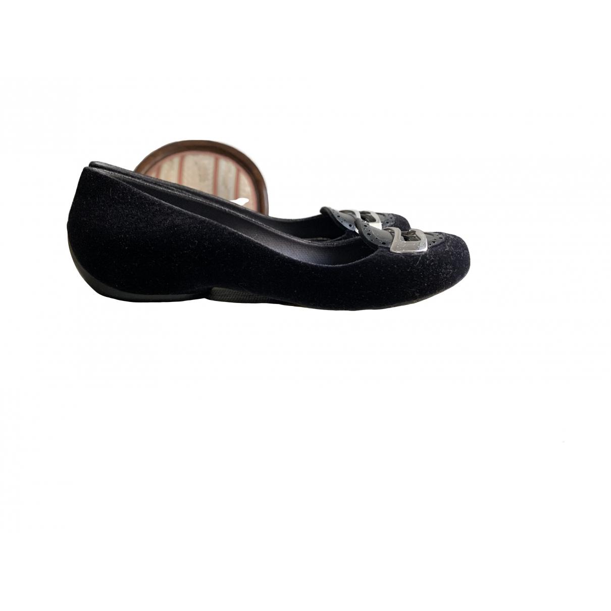 Melissa - Ballerines   pour femme en caoutchouc - noir