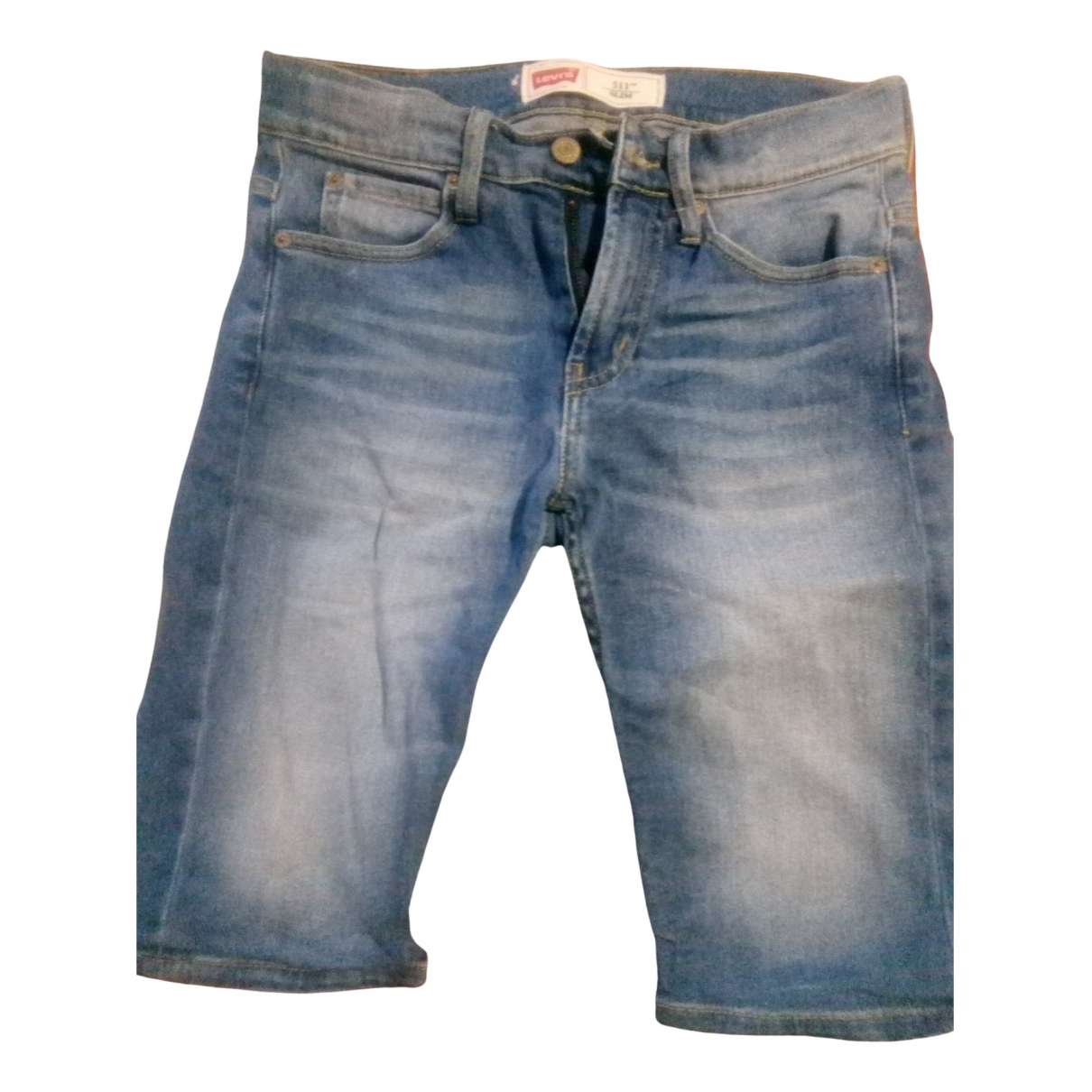 Levi's \N Blue Denim - Jeans Shorts for Kids 12 years - XS FR