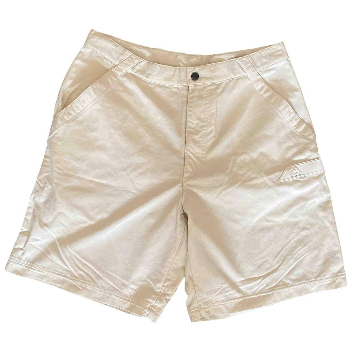 Adidas - Short   pour homme - beige