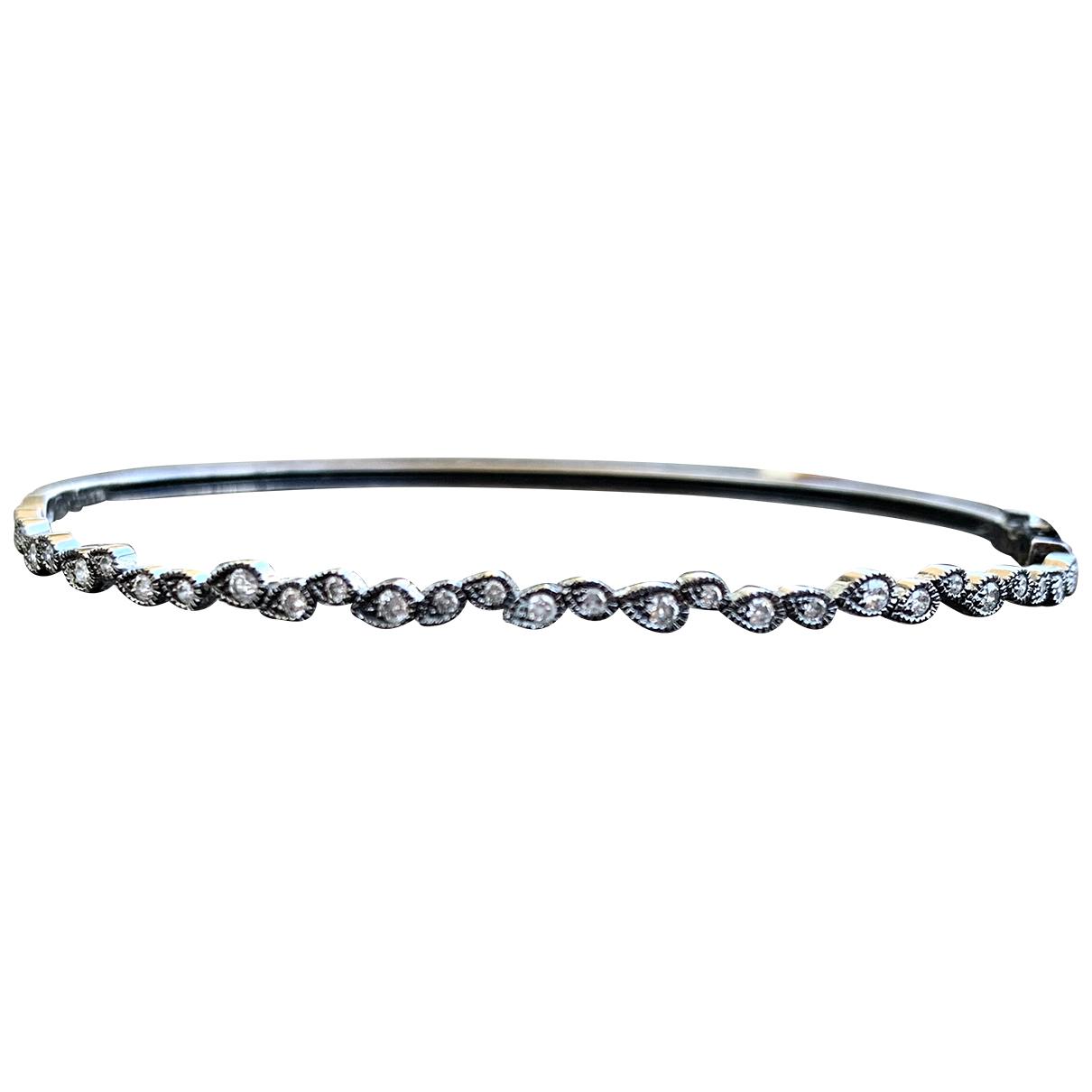Stone Paris \N Black White gold bracelet for Women \N