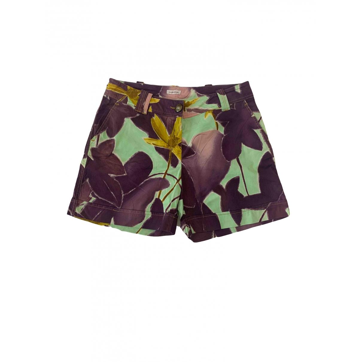 Parosh \N Shorts in  Bunt Baumwolle