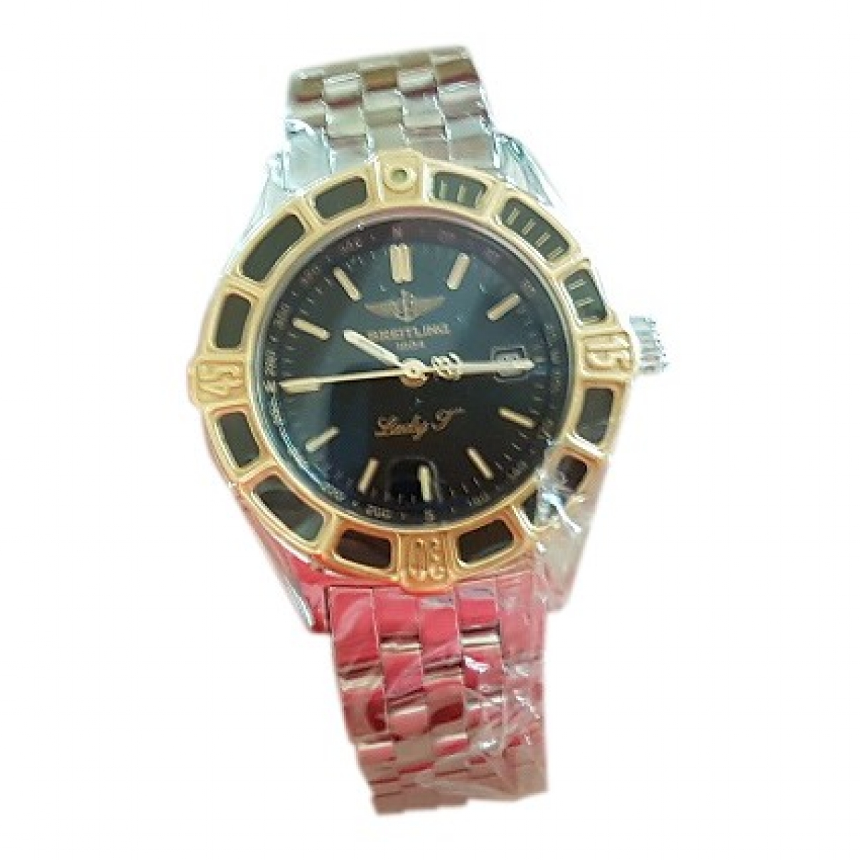 Breitling \N Silver gold and steel watch for Women \N