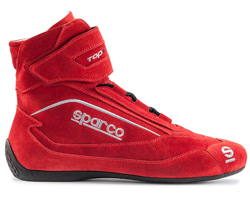 Sparco 00121045RS Red Top+ SH-5 Driving Shoes EU 45 | US 11