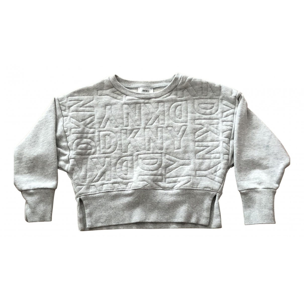 Dkny N Grey Cotton Knitwear for Kids 6 years - up to 114cm FR