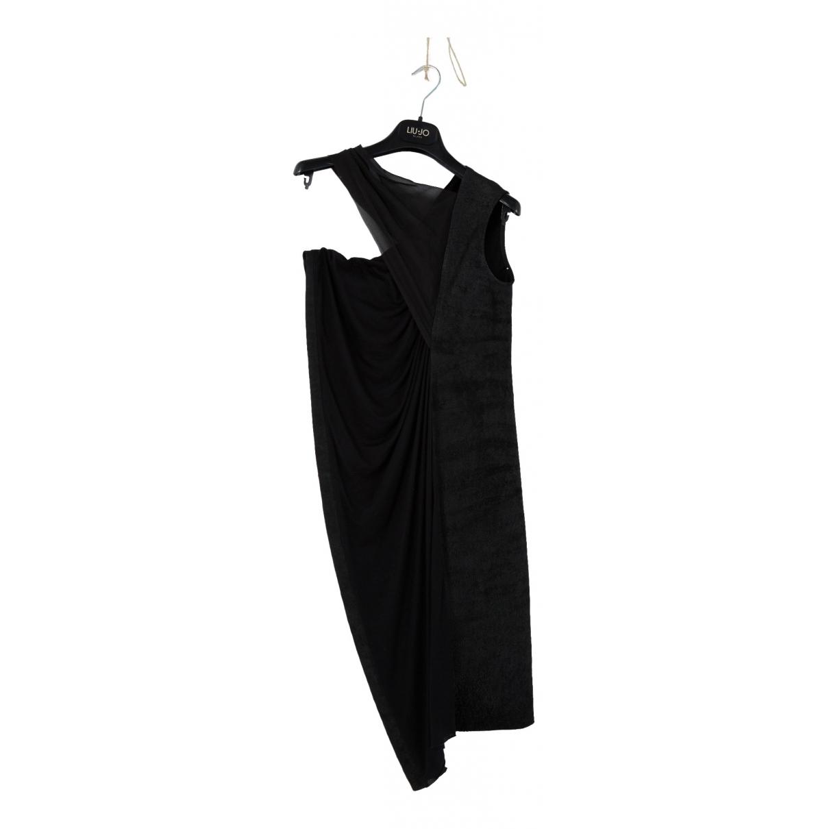 Rick Owens \N Black Cotton dress for Women 42 IT