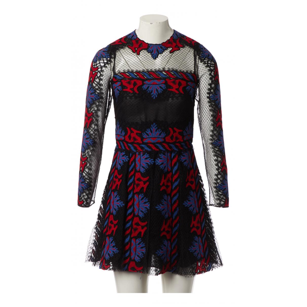Valentino Garavani - Robe   pour femme en dentelle - multicolore