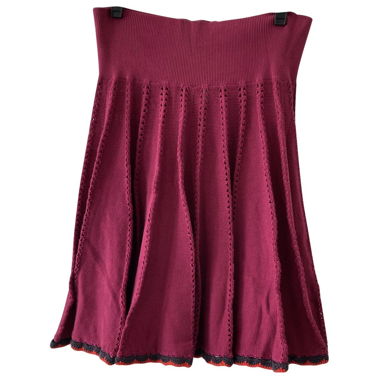 Sonia By Sonia Rykiel - Jupe   pour femme en coton - rose