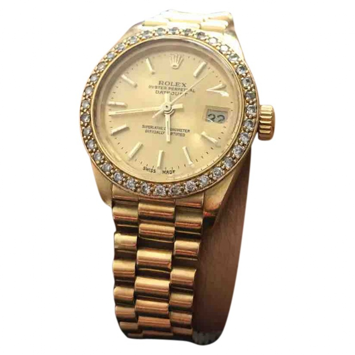 Reloj Lady DateJust 28mm de Oro amarillo Rolex