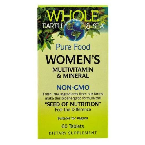 Whole Earth & Sea Gao Womens Multivitamin & Mineral 60 Tabs by Natural Factors