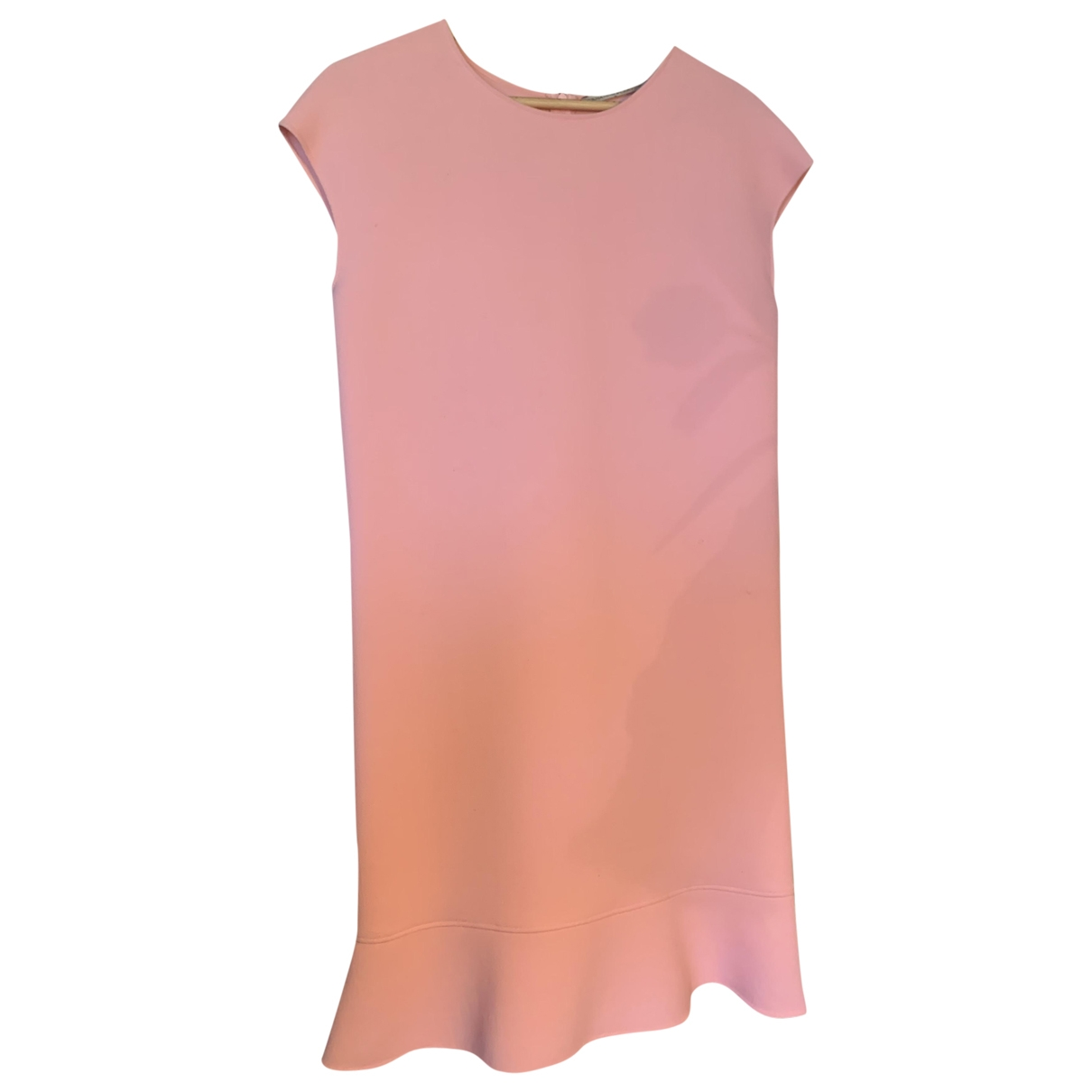 Ermanno Scervino \N Pink Wool dress for Women 38 IT